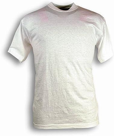 Seba 463 Camiseta Blanca algodón, 130 gr, blanco, 463: Amazon.es ...