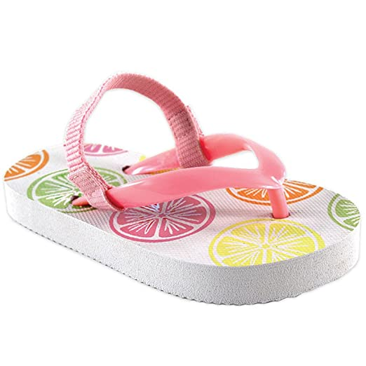 ab21cc64d58ac7 Amazon.com  Luvable Friends Printed Flip Flops