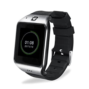Montre Connectée, EasySMX Android Smartwatch Bluetooth 3.0-32 Fonctions Disponibles-Support Carte SIM