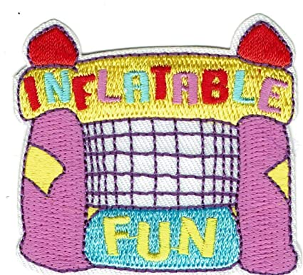 Amazon com: Girl Boy Cub Inflatable Fun Patches Crests Badges Scouts