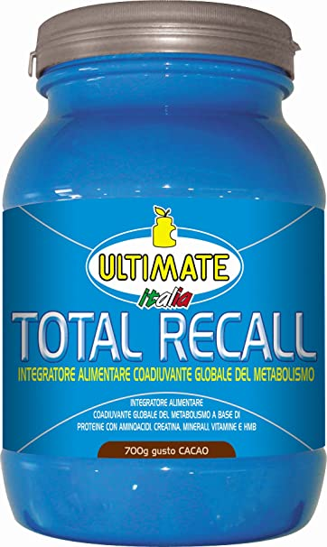 Ultimate Total Recall Gusto Cacao Integratore Alimentare 700g