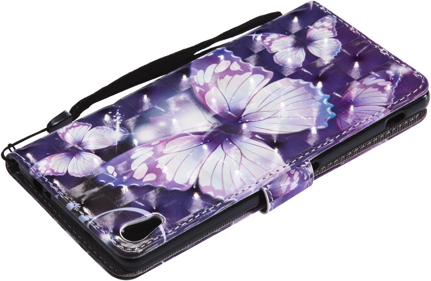 Lomogo Sony Xperia XA Ultra H/ülle Leder - KATU25989#6 Schutzh/ülle Brieftasche mit Kartenfach Klappbar Magnetverschluss Sto/ßfest Kratzfest Handyh/ülle Case f/ür Sony Xperia XA Ultra 6,0 Zoll