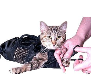 Pekki Bolsas de aseo para gatos (duraderas y versátiles, diseñadas para mantener a los gatos protegidos durante el aseo y/o el baño): Amazon.es: Productos ...