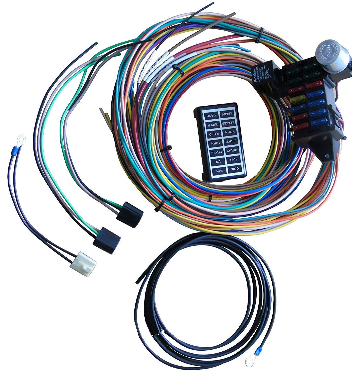 A-Team Performance 14-Circuit Basic Wire Kit Small Wiring Harness Cable on installation kit, fan kit, mounting kit, construction kit, fender electric guitar kit, blue kit, maintenance kit, motor kit, kitchen kit, go kit, welding kit, xc90 lift kit, parts kit, upholstery kit, exhaust kit, mustache kit, coil kit, paint kit,