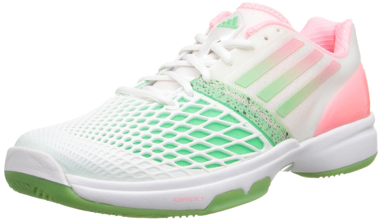 the best attitude e150f 5c49f Amazon.com   adidas Women s CC Adizero Tempaia III White Light Flash  Red Light Flash Green Sneaker 11 B - Medium   Fashion Sneakers