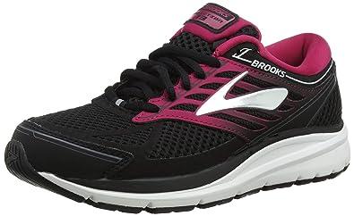 77bcaff69ba Brooks Women s Addiction 13 Black Pink Grey 5 B US B ...