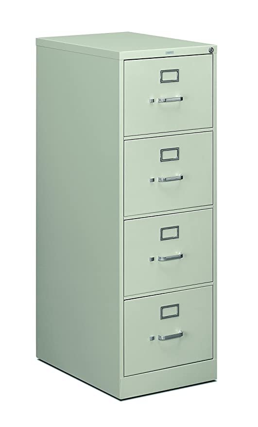 Amazon.com: HON 4 Drawer Filing Cabinet   510 Series Full Suspension Letter File  Cabinet, 52 By 25 Inch, Putty (H514): Kitchen U0026 Dining