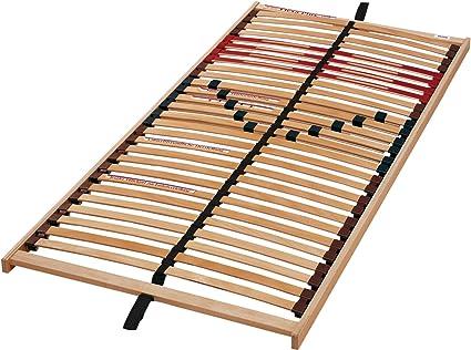 Flexa más el somier de láminas, de resorte de marco de madera con excelente flexibilidad, 90 x 200 cm