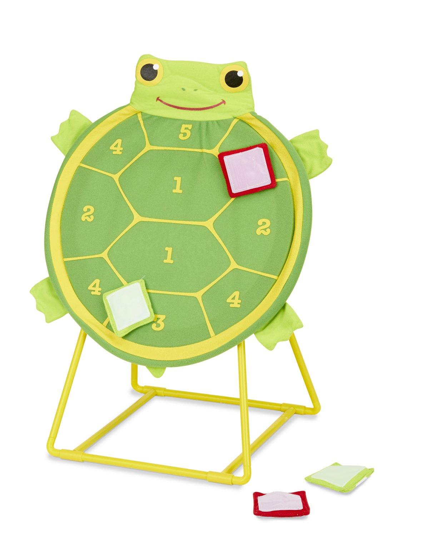 Turtle Target Toss Game Self Stick Bean Bags Kids Game