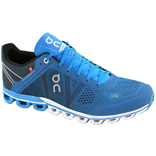 On Running Cloudflow River Navy 44.5  Amazon.it  Scarpe e borse 9511049fce6