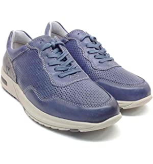 Valleverde Scarpe Uomo Sneakers in Pelle blu 17811-AVIO 73Grgq2X