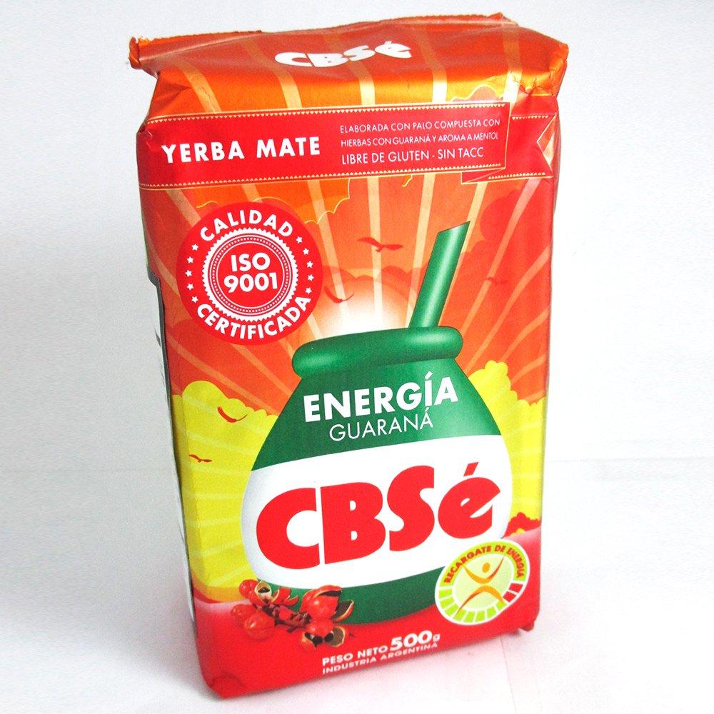 Amazon.com | Yerba Mate CBSE Energia Energy Tea 500 g 1.1 Lb Argentina Loose Herbal Drink New: Cups, Mugs & Saucers