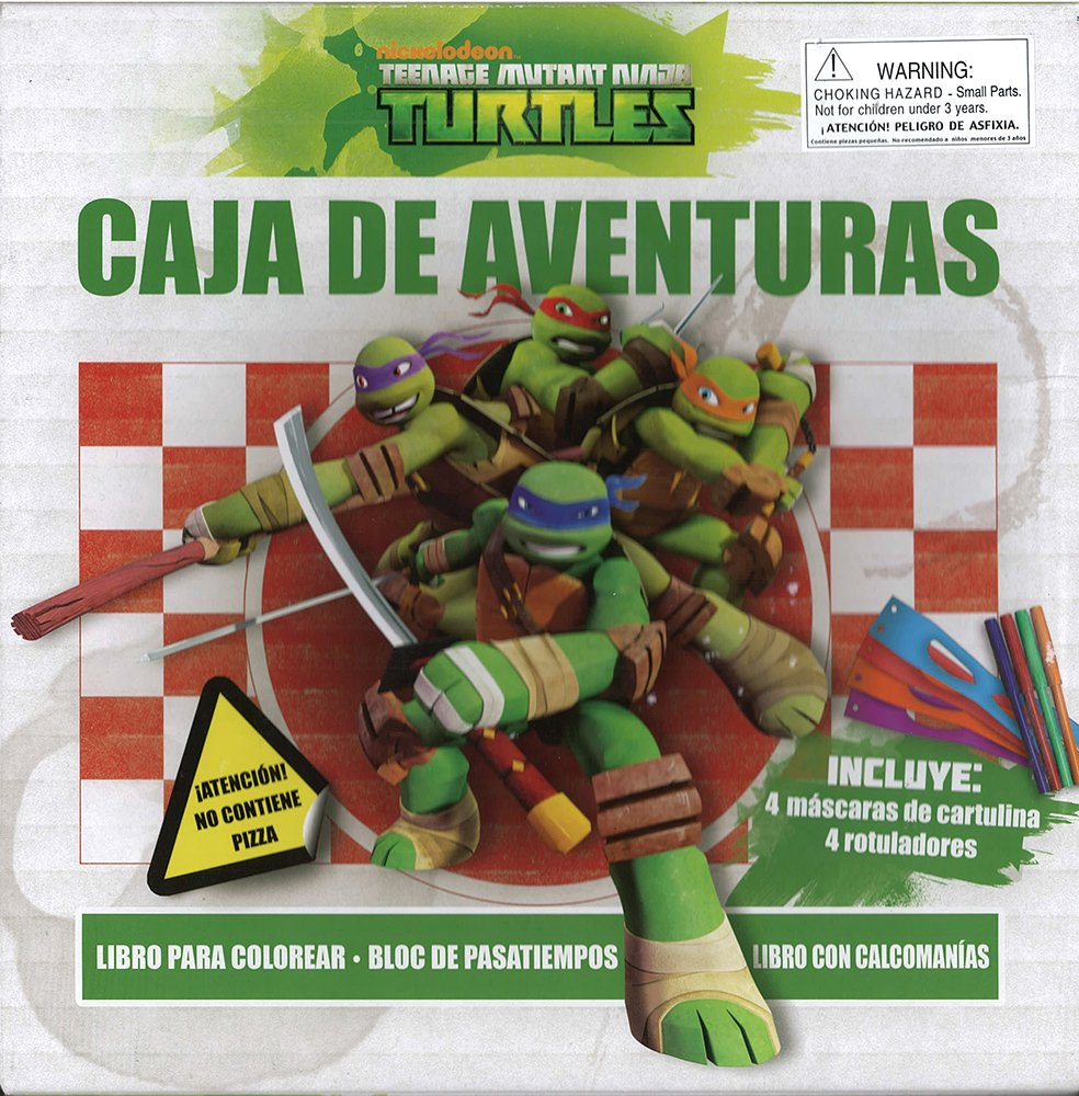 Libro ninja turtles: caja de aventuras: DELIVERING I BOOKS ...