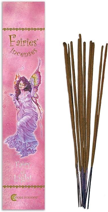 Fiore D Oriente luz Hadas de Incienso, bambú, Multicolor, Pack de ...