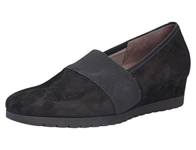 Izona Gabor Pump With Chunky Sole 72.683 7 Blk Suede 8Onwukg