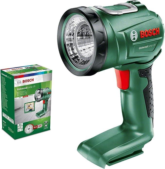 Bosch Home and Garden 06039A1100 Linterna UniversalLamp (batería ...