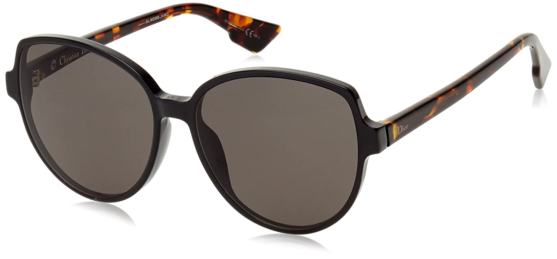 Dior Onde2 Black Clear Lens Sunglasses