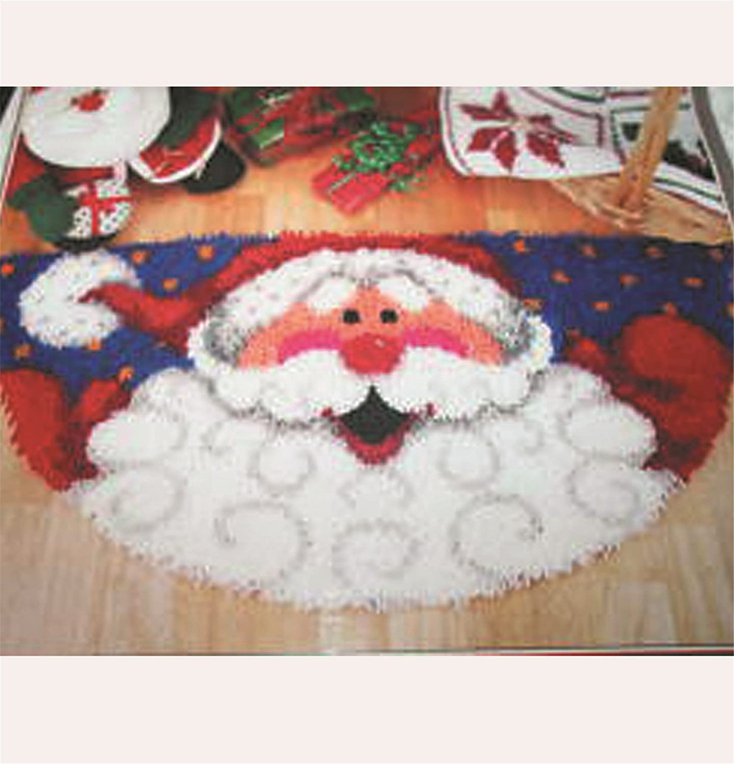 14 Model Christmas New Latch Hook Kit Rug Christmas127 20 by 14 Inch 1 pack