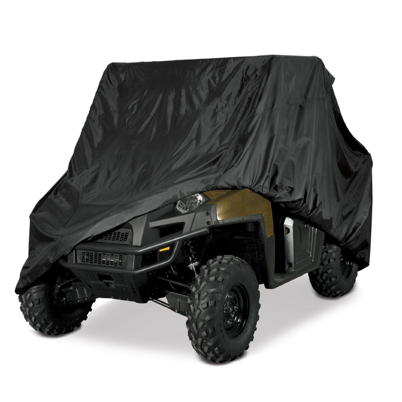 Premium Products Corp Heavy Duty 420 Denier Waterproof Side by Side Cover for Rhino Ranger Mule, Gator Prowler, Razor Recon, RZR Pioneer, Viking Wolverine Wildcat, Black
