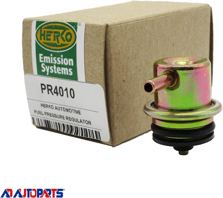 New Fuel Pressure Regulator Herko PR4010 For Chevy Suburban 00-03 W// Adjustable PSI Screw