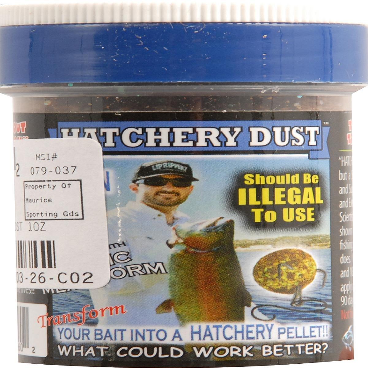 Lip Ripperz Garlic Mealworm Hatchery Dust Prepared Fishing Bait, Brown by Lip Ripperz   B00C8TKXOY