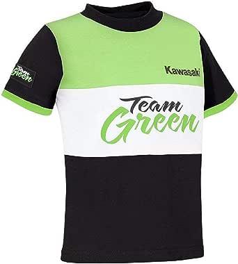 Kawasaki Team Green Camiseta Niño - Negro, 116: Amazon.es: Ropa y accesorios