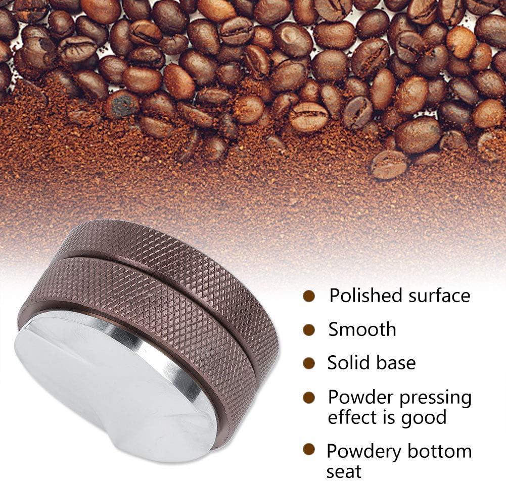 58mm Stainless Steel Coffee Distributor Leveler Powder Press Coffee Tamper