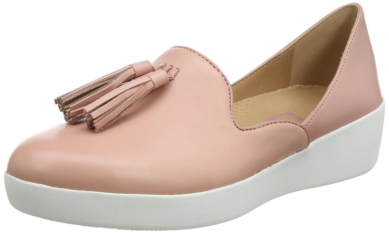 FitFlop Damen Pink Tassel Superskate D'Orsay Loafers Slipper, Dusky Pink Pink Damen (Dusky Pink 535) 32e64b