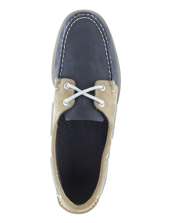 Sebago Mens Spinnaker Leather Grey Shoes