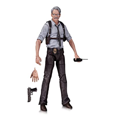 DC Collectibles Batman Arkham Knight: Commissioner Gordon Action Figure: Toy: Toys & Games