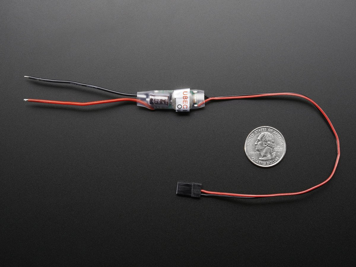 Adafruit UBEC DC/DC Step-Down (Buck) Converter - 5V @ 3A out
