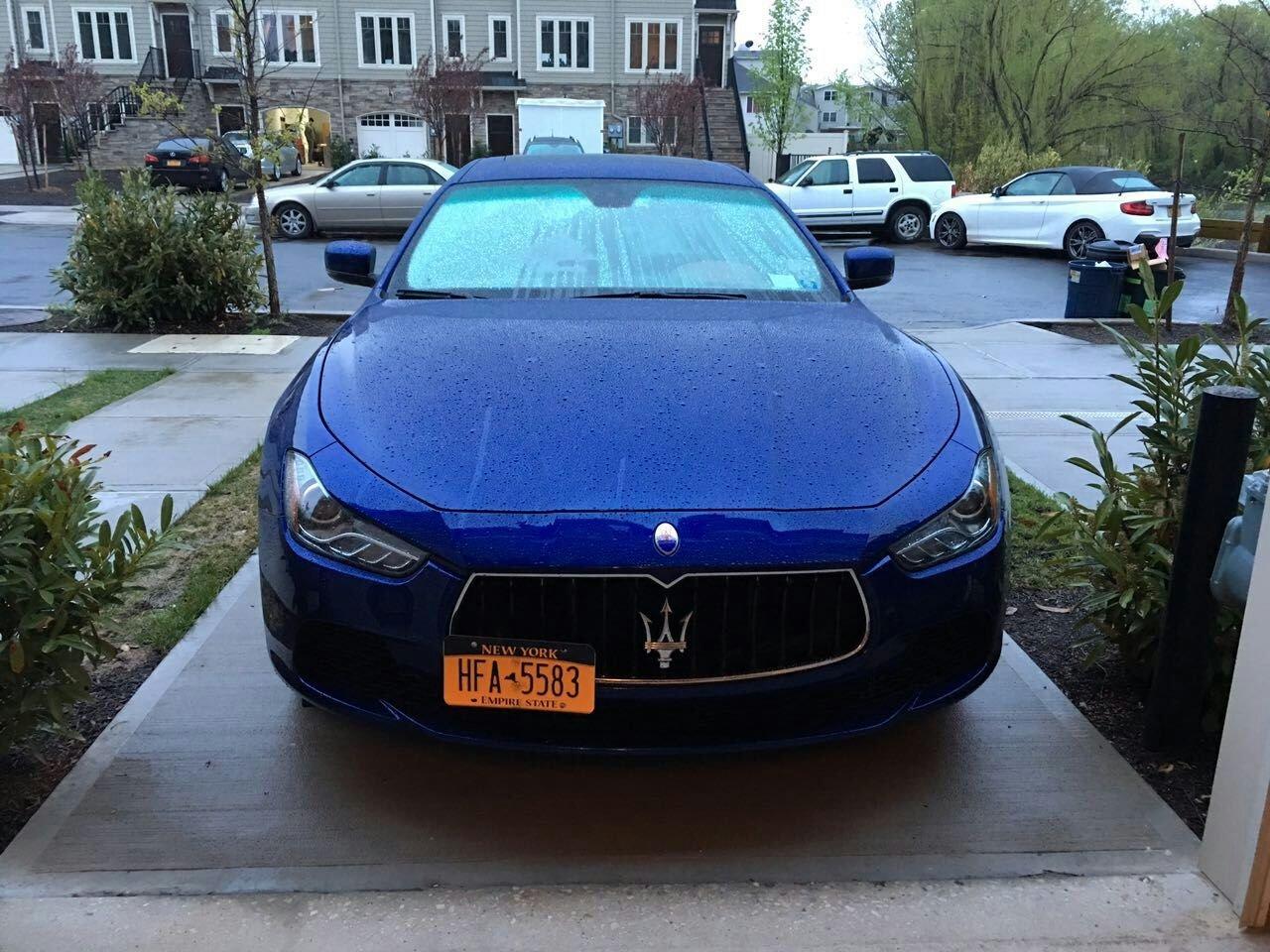 GMG Motorsports Maserati Ghibli NO Holes License Plate Bracket (Not for Models with Front sensors)