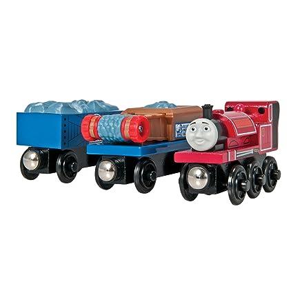 Tomy International Thomas Wooden Railway Skarloey And Gravel Cars