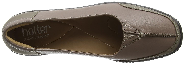 1586 - Gillian - Chaussures Bateau - Femme - Noir (Black Snake) - 41 EU (7 UK)Hotter RAmtqTj