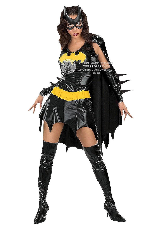 Superheros Ladies Fancy Dress Comic Book Super Hero Womens Adults Costume 6-20