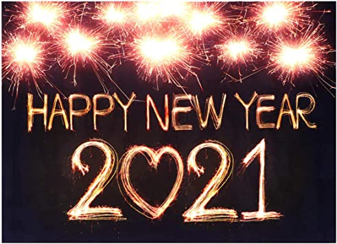 Pretyzoom 2021 Happy New Year Photography Backdrop 2021 Photography Background New Years Eve Party Banner Happy New Years Eve Party Decoration Amazon Co Uk Toys Games