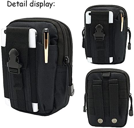 Tactical Outdoor Molle Waist Pack Utility Fanny Phone Pouch Belt Bag Phone Case