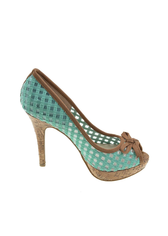CafèNoir - Zapatos de vestir para mujer Azul azul turquesa 40 EU