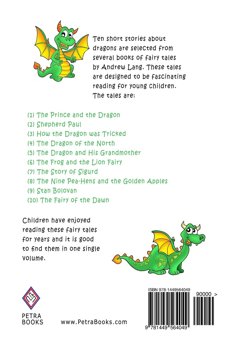 Dragon Tales for Kids: Ten Fairy Stories About Dragons for