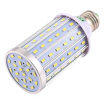 英文 明 : E27 90LED 5730SMD Bombilla halógena LED halógena LED de alta potencia de maíz de 20W para lámpara de alumbrado público ...