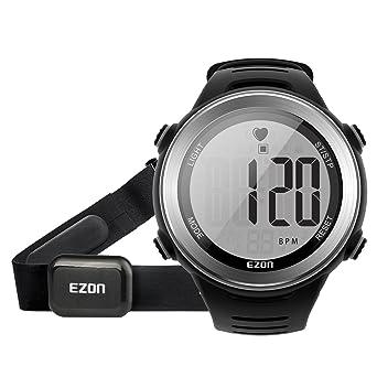 Amazoncom EZON HRM Tech Chest Strap Digital Watch Heart Rate