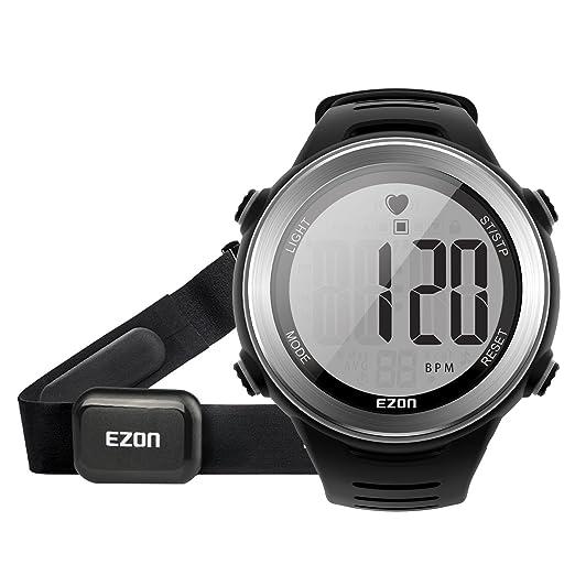 EZON T007 Reloj digital de los deportes de los hombres Reloj de pulsera al aire libre