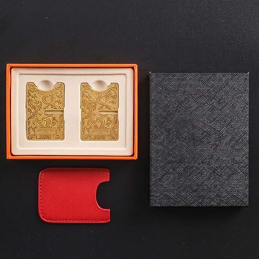 Accessorio da Viaggio Gold Portatile DJR Poggia Panchetta per Sigari Porta sigari in Fibra di Carbonio Staccabile