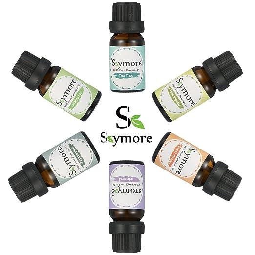 150 opinioni per Skymore Olio essenziale Top 6Pcs, Regalo romantico, Umidificatori Aromaterapici