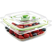 FoodSaver Vacuum Sealed Fresh Container, 3 Cup, Clear