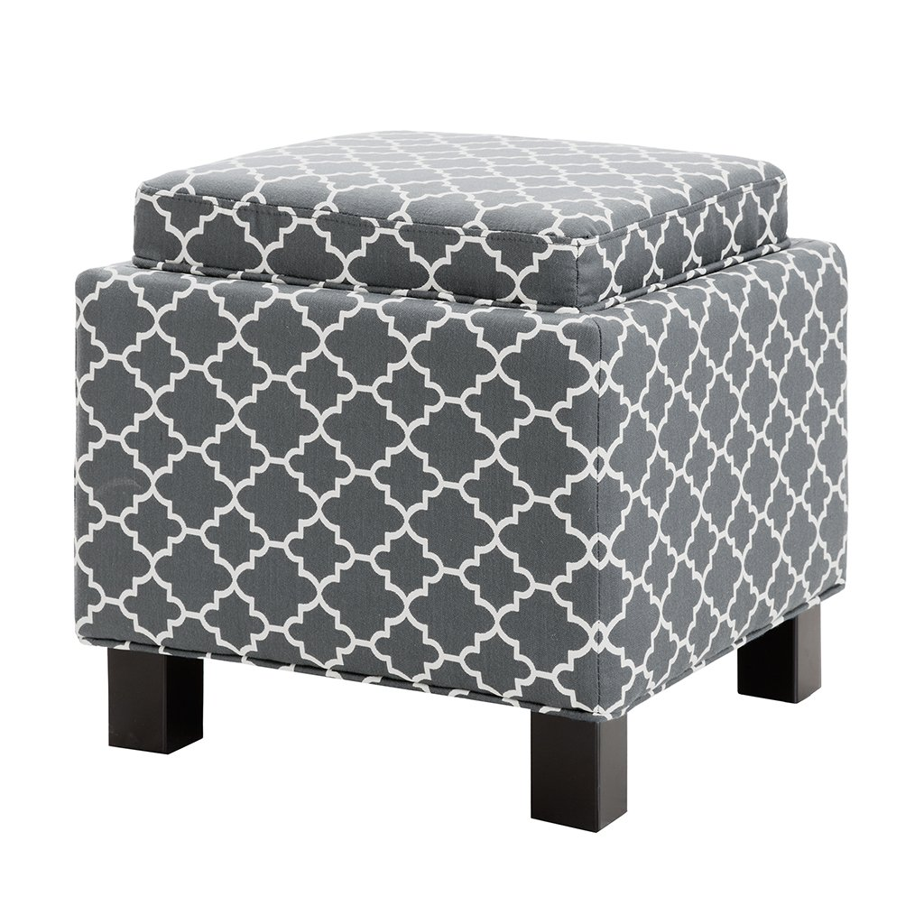 Madison Park FPF18-0489 Shelley Square Storage Ottoman with Pillows by Madison Park (Image #3)