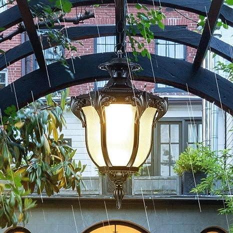 Lámparas de Techo Exteriores Al aire libre Luz pendiente ...