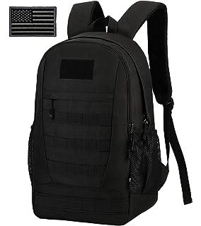 ArcEnCiel Waterproof Military Backpack Rucksack Gear Tactical Assault Pack Student School Bag for Hunting Camping Trekking