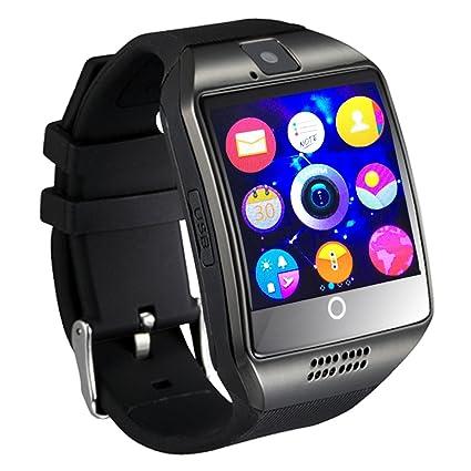Montre connectée avec caméra à écran tactile, Smartwatch Bluetooth Ourspop Bluetooth téléphone portable débloqué -écran tactile ...
