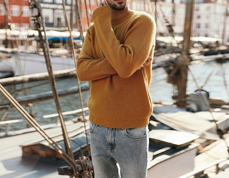 Wool Sweater Men Autumn Winter Knitted Pullover Men Cashmere